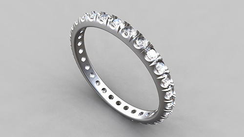 Eternity Ring - Fishtail